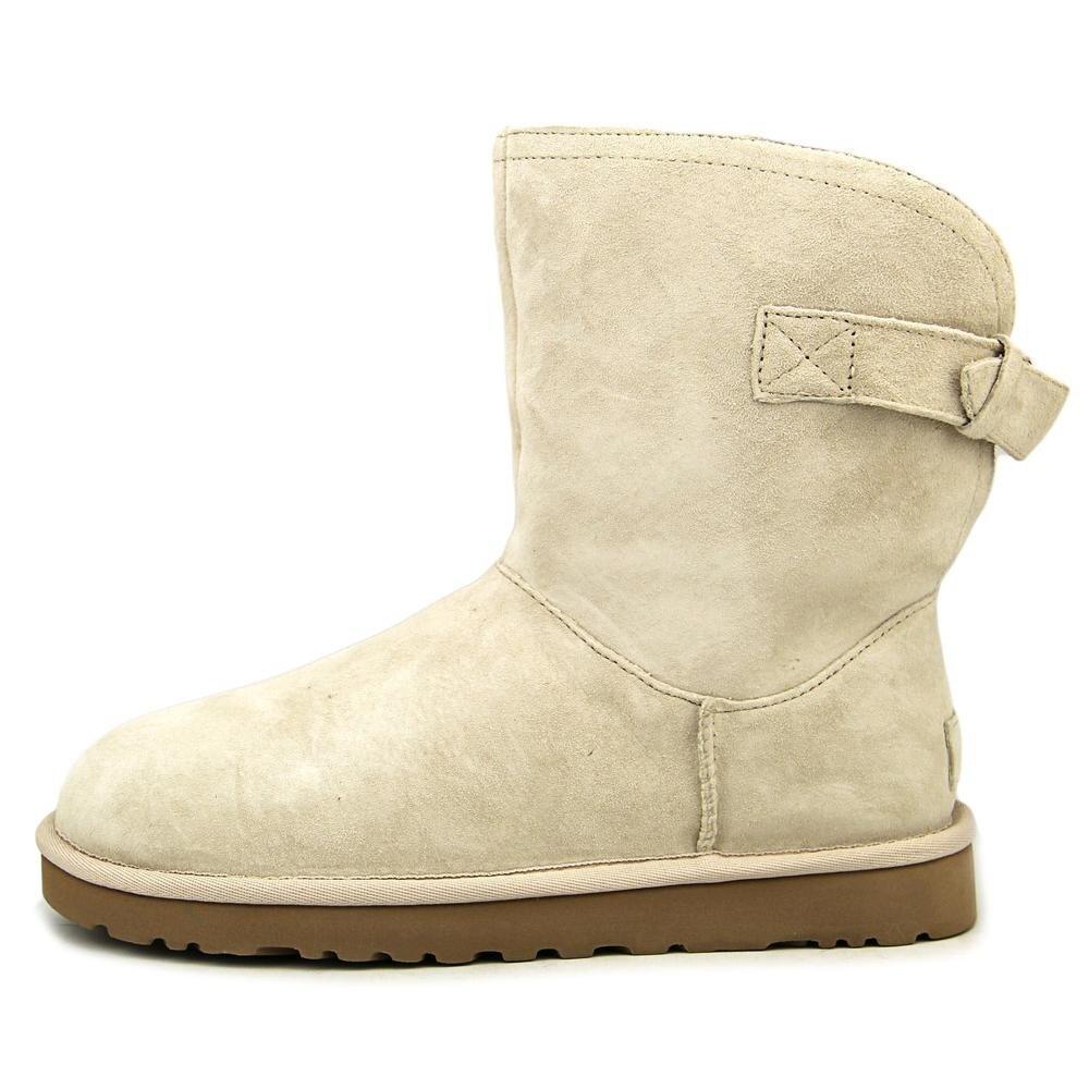 2602f5deebc Ugg Australia Remora Women Round Toe Leather White Winter Boot