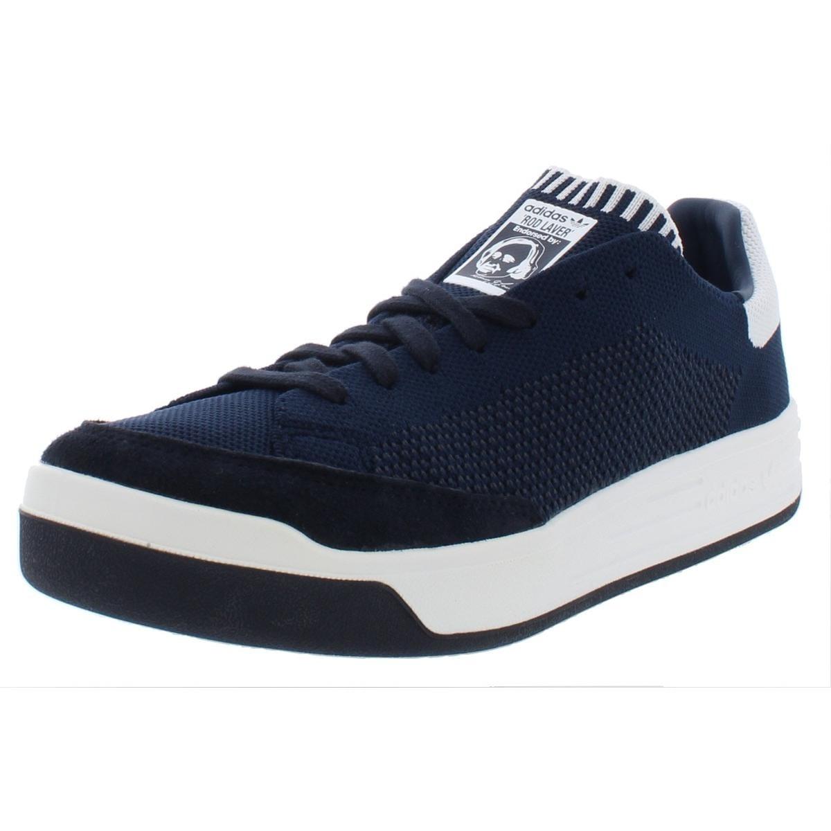 wholesale dealer 0f4da 375e6 adidas Originals Mens Rod Laver Super PK Fashion Sneakers Suede Padded  Insole