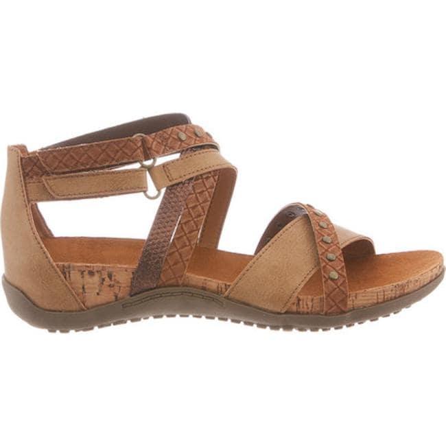 9c3cb9229e77 Shop Bearpaw Women s Julianna Studded Cork Sandal Tan Synthetic - Free  Shipping On Orders Over  45 - Overstock - 14589656