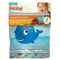 Nuby Reusable Sandwich and Snack Bags Set - 3 Pack - Ocean Friends
