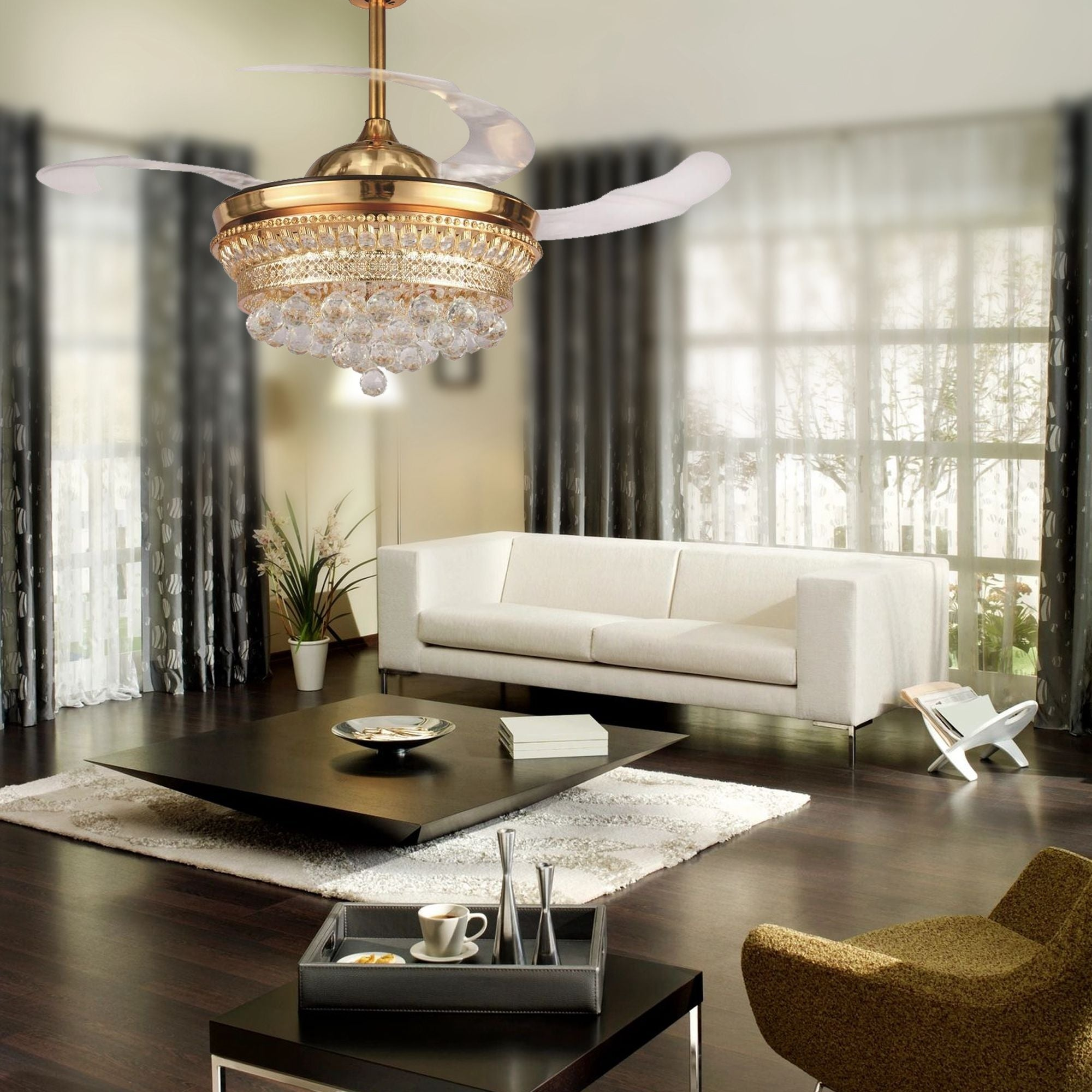 a size necessities lighting blades airflow design to how room livings pin choose ceiling living fan