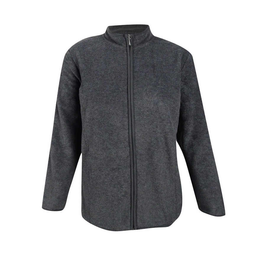 31d53b6da9293 Shop Karen Scott Plus Size Zeroproof Fleece Jacket - Free Shipping On  Orders Over  45 - Overstock - 19897895