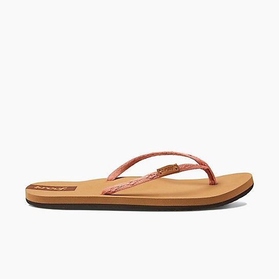 54c11b3bfd25 Shop Reef Slim Ginger Flip Flop Women - Free Shipping On Orders Over  45 -  Overstock - 15024074