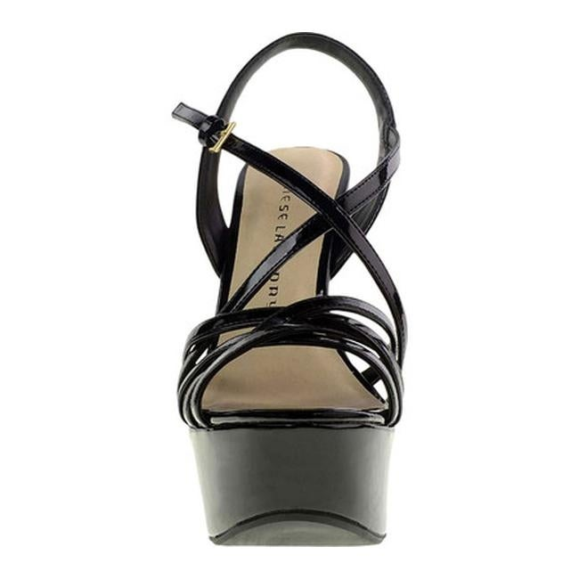 dd7e83b54d1 Shop Chinese Laundry Women s Teaser Platform Sandal Black Patent - Free  Shipping On Orders Over  45 - Overstock - 14165493