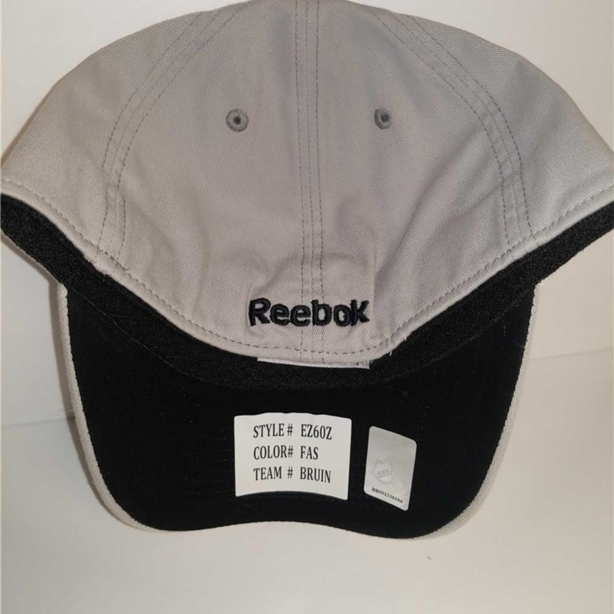 a36e31df157 Shop Boston Bruins Mens Adult Size S M Reebok Stretch Fit Cap Hat - Free  Shipping On Orders Over  45 - Overstock.com - 23071543
