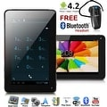 Indigi® Dual-Core 7.0inch Android 4.2 JellyBean 2-in-1 SmartPhone + TabletPC w/ Dual-Cameras + WiFi + Bluetooth Headset included