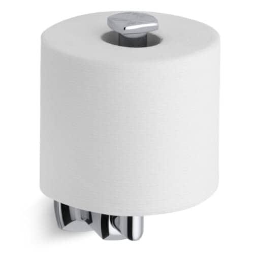 Shop Kohler K-16255 Margaux Single Post Vertical Toilet Paper Holder ...