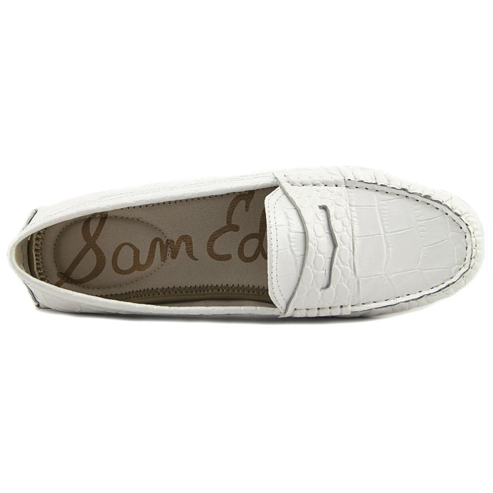 16316e02c90ef Shop Sam Edelman Filly White Flats - Free Shipping On Orders Over  45 -  Overstock - 19418694