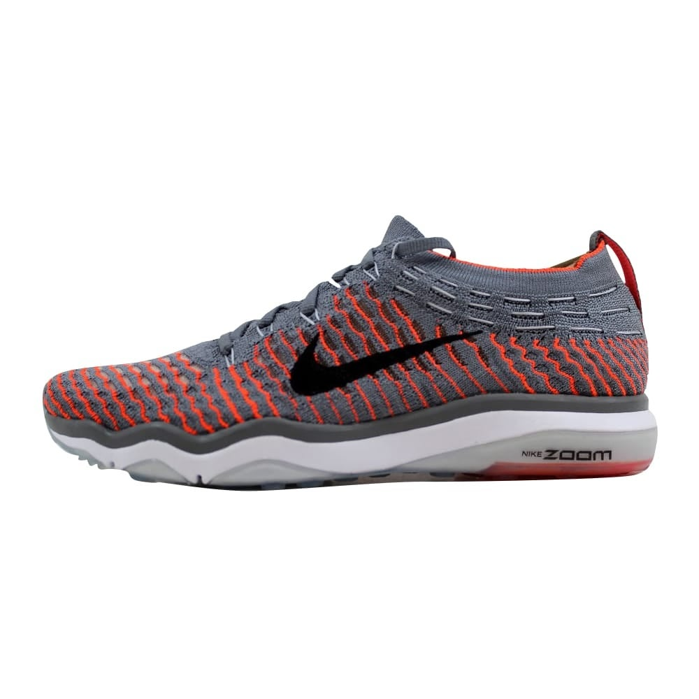 358ab772f81d Shop Nike Air Zoom Fearless Flyknit Cool Grey Black-Total Crimson Women s  850426-003 Size 6 Medium - Free Shipping Today - Overstock - 22919324