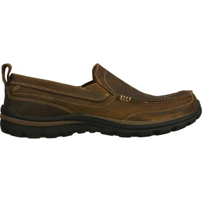 4934c8c3ec0299 Shop Skechers Men's Relaxed Fit Superior Gains Brown - On Sale - Free  Shipping Today - Overstock - 7714622