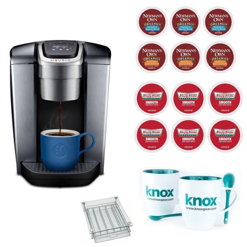 Shop Keurig K Elite Single Serve Coffee Maker Brushed Slate With K