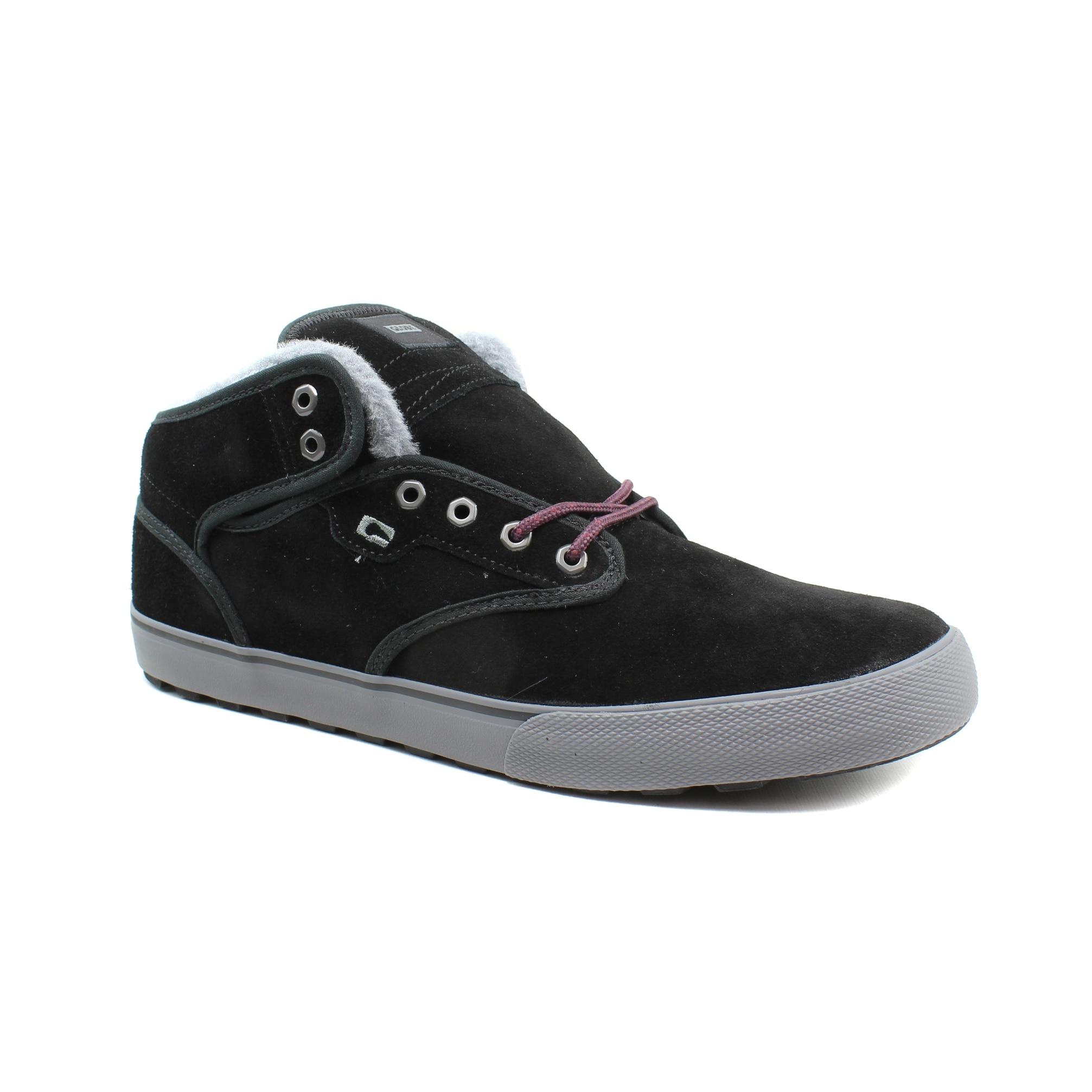 1685373e5d1 Shop Globe Mens Motley Mid Black Skateboarding Shoes Size 9 - On ...