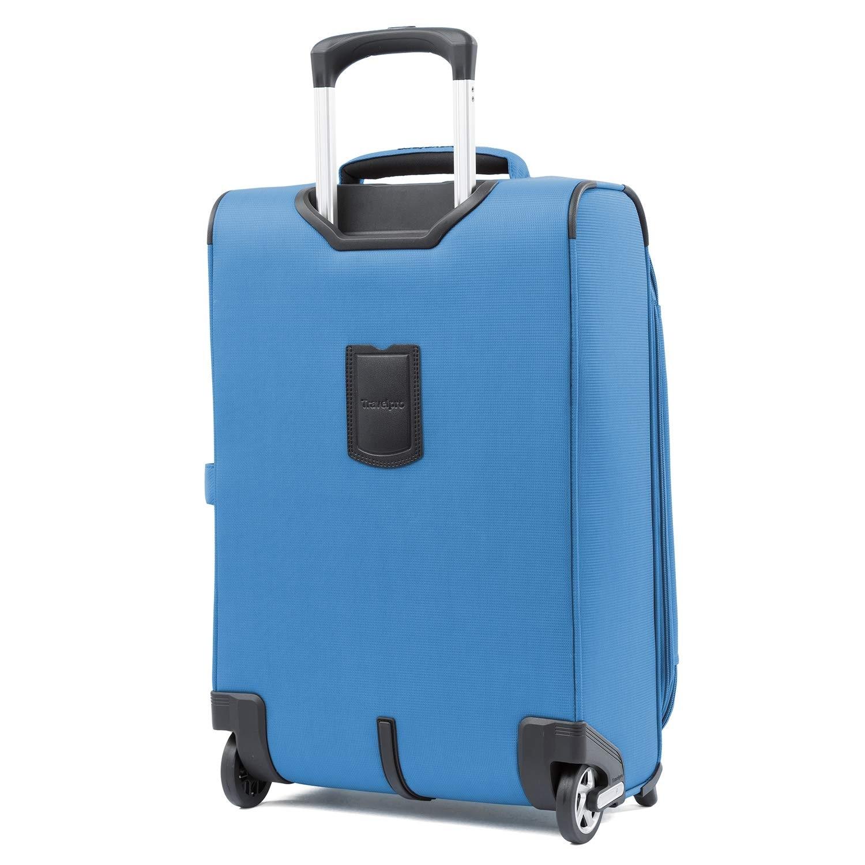 059651820 Travelpro Maxlite 5 - 22 Expandable Rollaboard w/ Inline Skate Wheels -  Azure Blue