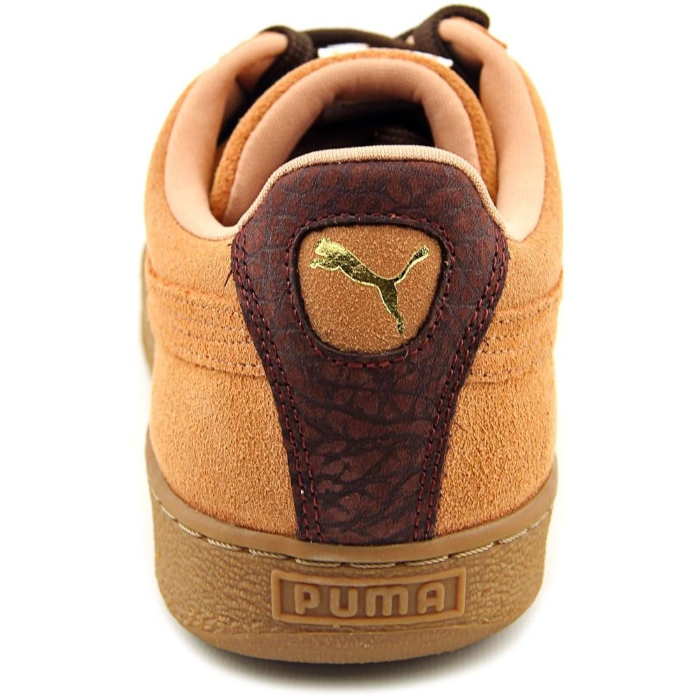 0e46c9fd626 Shop Puma Suede Classic Casual Emboss Round Toe Suede Sneakers - Free  Shipping Today - Overstock.com - 14496088