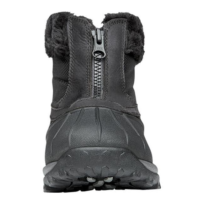 7f5a6d8771daa2 Shop Propet Women s Blizzard Ankle Zip II Boot Black Leather Nylon - Free  Shipping On Orders Over  45 - Overstock - 12490463
