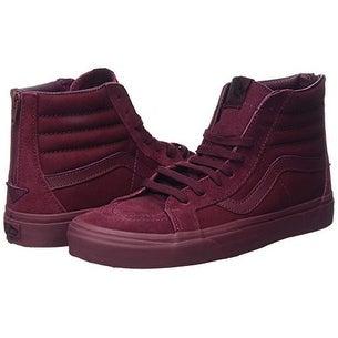 1f436f93ca Shop VANS SK8-Hi Mono Port Royal Reissue Zip Sneaker Men Shoes (9.5 Men  11  Women) - Free Shipping Today - Overstock - 20292747