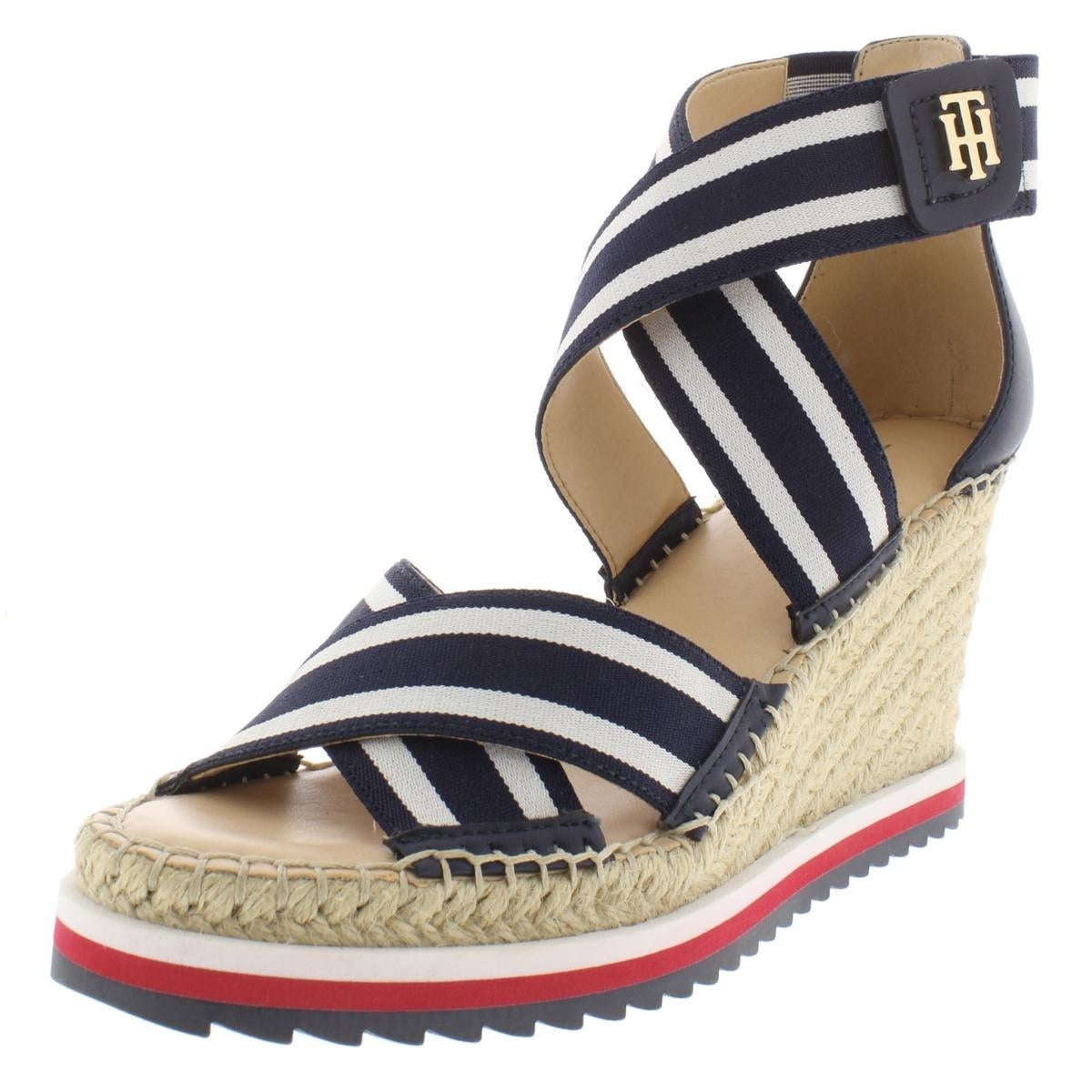 4f777dc65 Shop Tommy Hilfiger Womens Yesia Wedge Sandals Stretch - Free Shipping On  Orders Over  45 - Overstock - 27619839