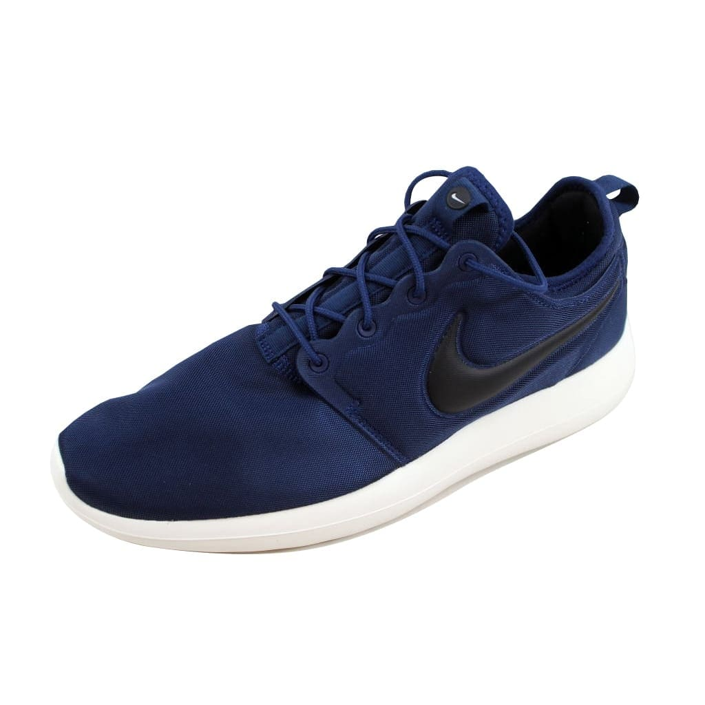 c8db4f0e764 Shop Nike Roshe Two Midnight Navy Black-Sail-Volt 844656-400 Men s - Free  Shipping On Orders Over  45 - Overstock - 22340383