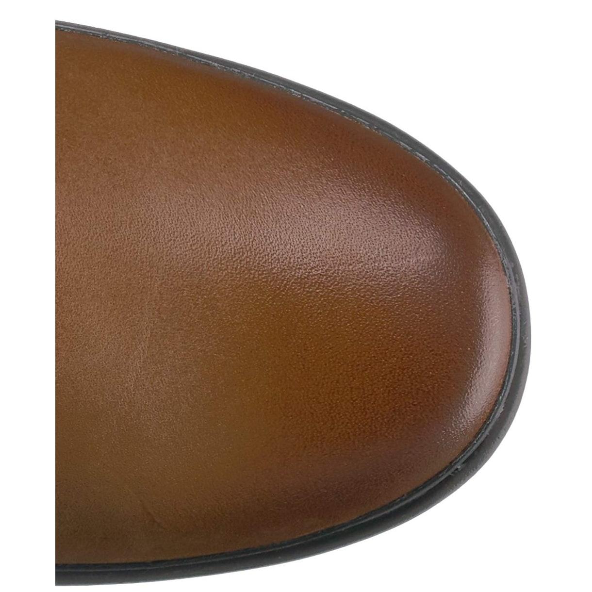 7f8e59ebb3d Ugg Womens Janina Leather Closed Toe Knee High Fashion Boots
