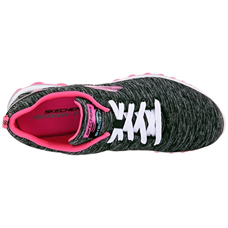 596b65b5ad Shop Skechers Sport Women's Skech Air Sweet Life Fashion Sneaker, Black/Hot  Pink - Free Shipping Today - Overstock - 18038857