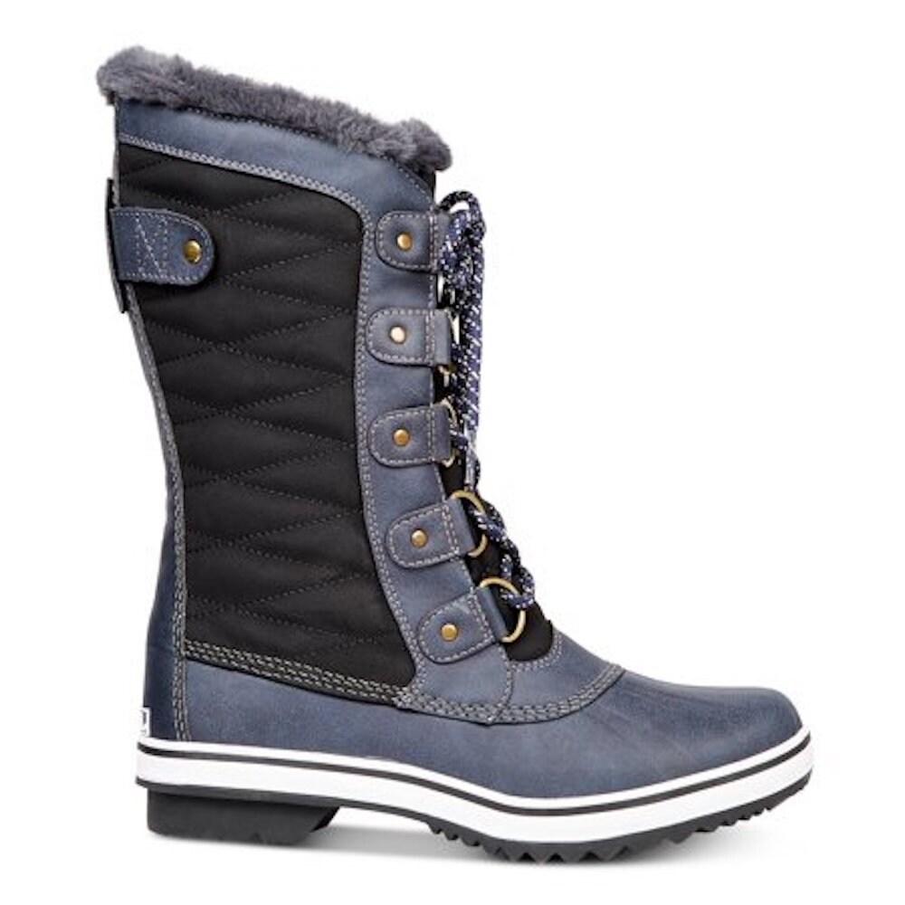 f323e43e425 JBU Womens Lorna Closed Toe Mid-Calf Fashion Boots