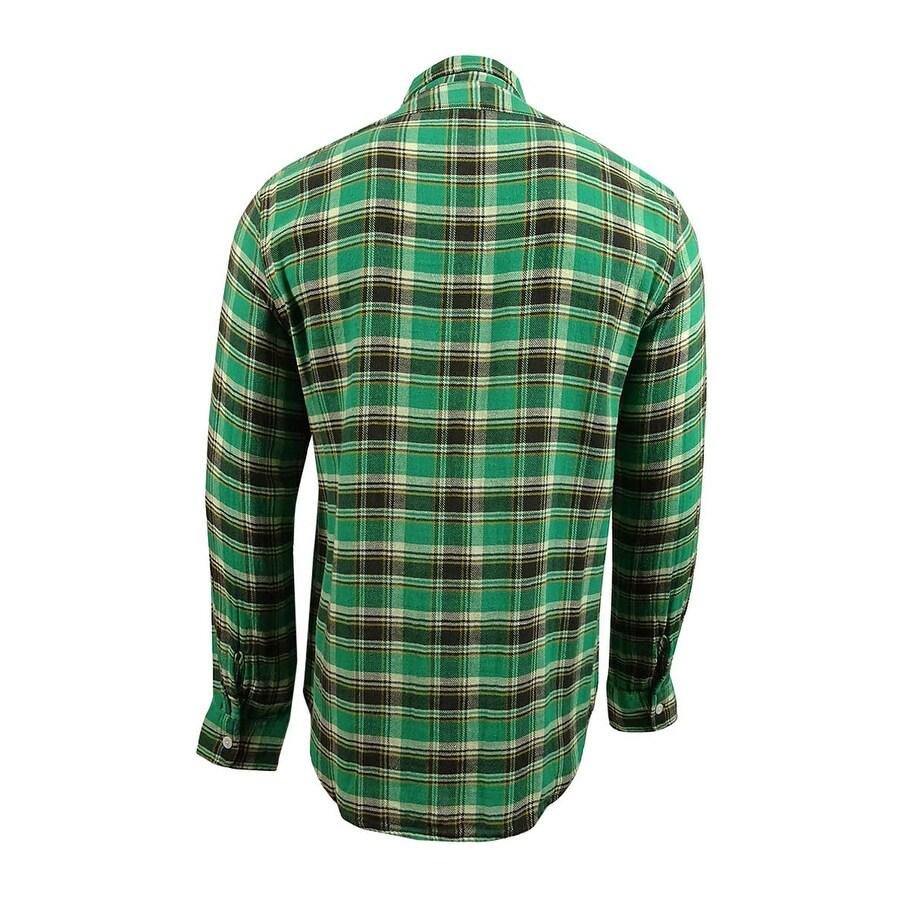9e6281444 Shop Denim   Supply Ralph Lauren Men s Ward Plaid Twill Shirt (M ...