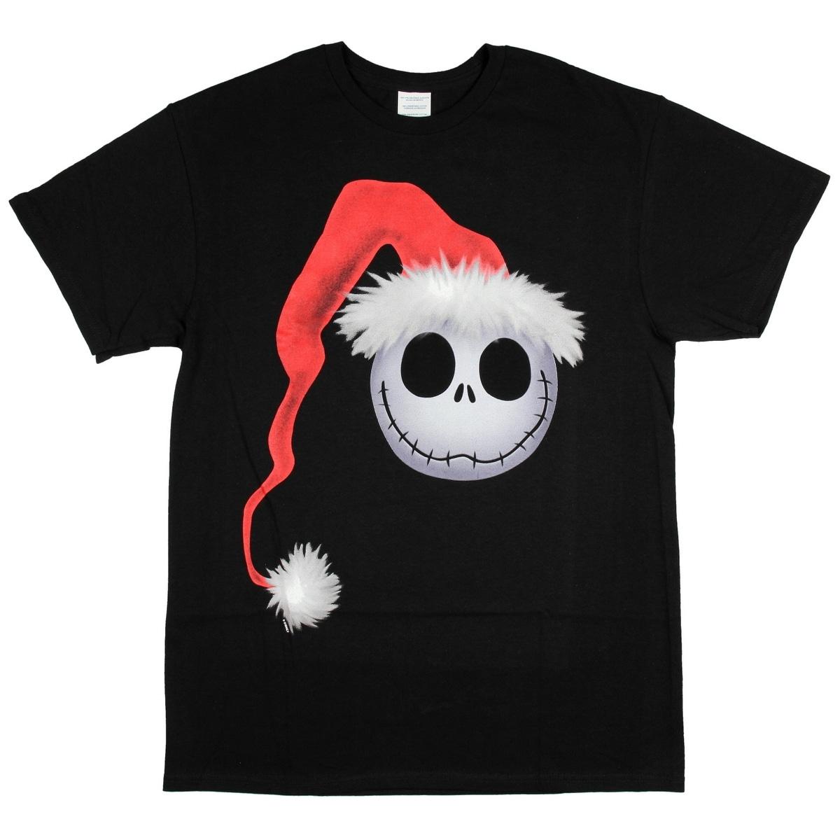 Shop Nightmare Before Christmas T shirt Men\'s Jack Skellington Face ...