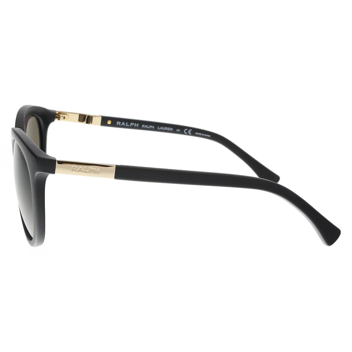e603b693a97a Shop Ralph Lauren RA5207 105873 Matte Black Cat eye Sunglasses - 52-21-135  - Free Shipping Today - Overstock - 21488059