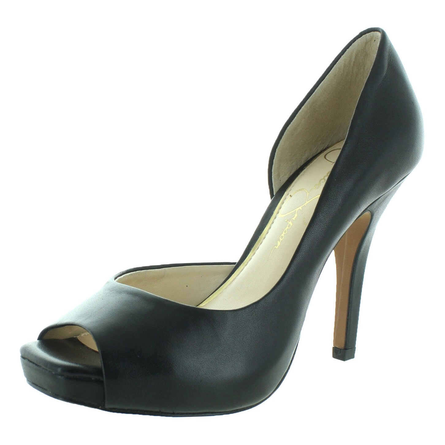 Jessica Simpson Josette D'Orsay Women's Open Toe Heels - Free Shipping On  Orders Over $45 - Overstock.com - 22529598