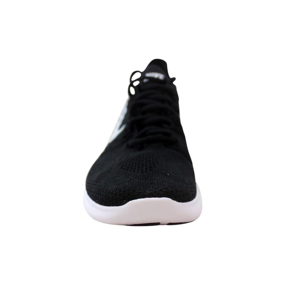 b07da0ea03ca Shop Nike Free RN Flyknit 2017 Black White-Black 880843-001 Men s - Free  Shipping Today - Overstock - 27640504