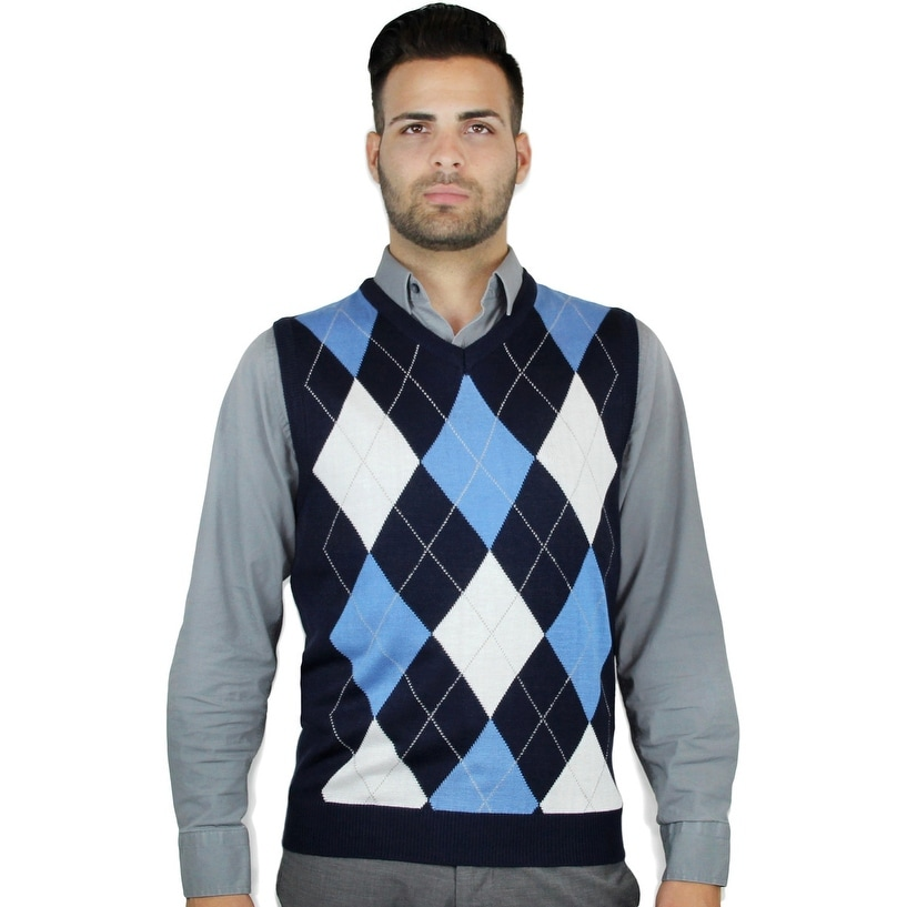 c87211fd2 Shop Men s Argyle Sweater Vest - Free Shipping On Orders Over  45 ...