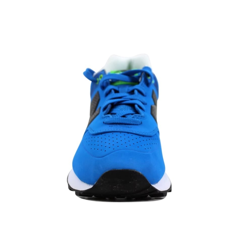 1ef0bf6ff2fe2 Shop New Balance Men's 574 Paint Chip Blue/Green-White ML574ACA Size 8 -  Free Shipping Today - Overstock - 27339222