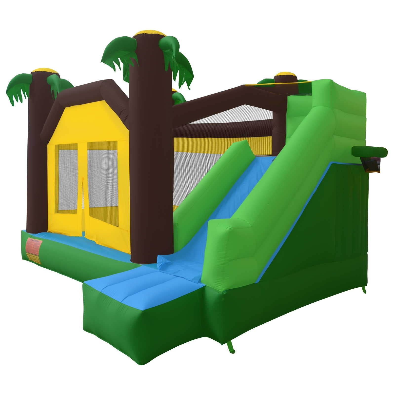 a456edded Shop Jungle Theme Bounce House Jumper Bouncy Castle Bouncer ...