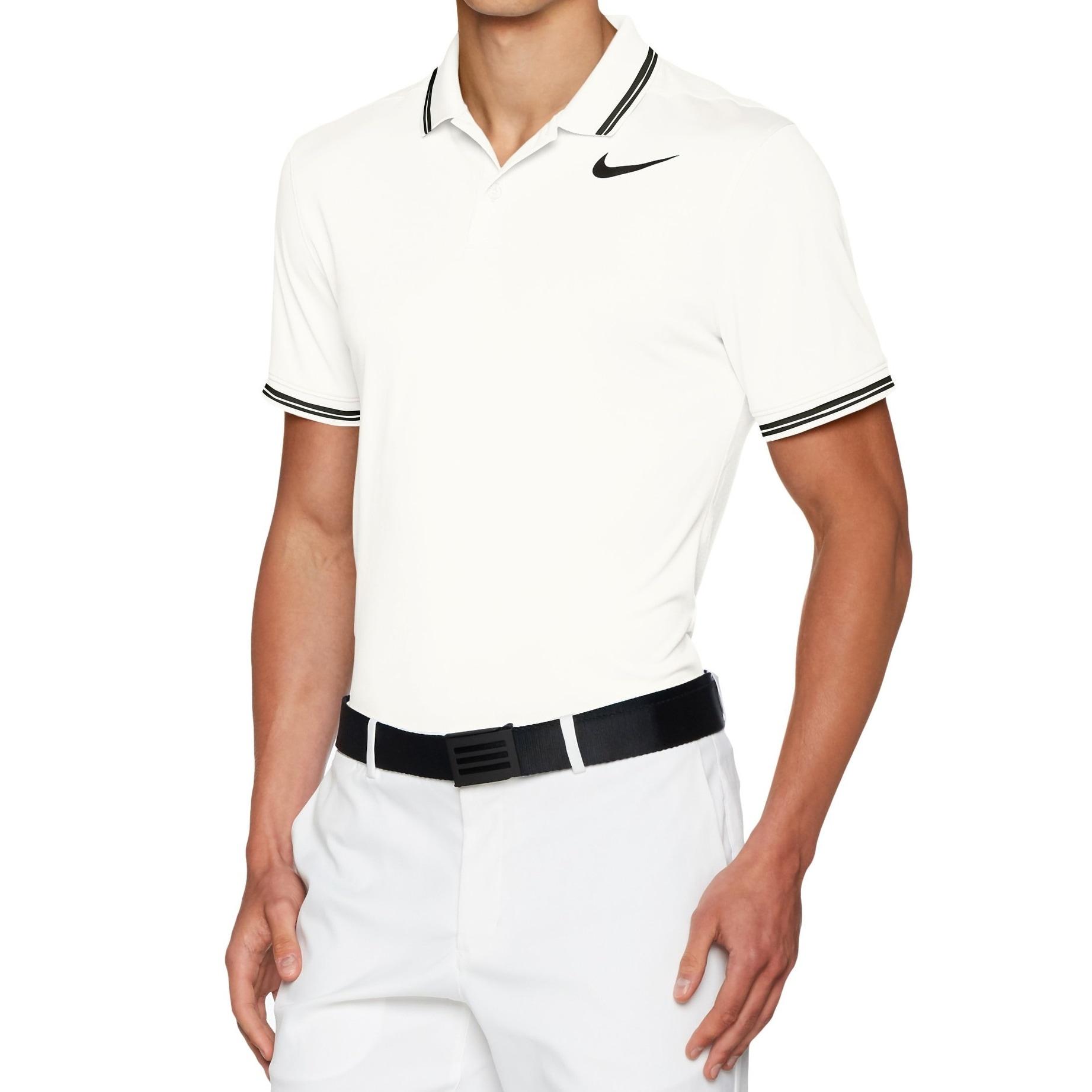 Shop Nike White Mens Size Xl Tipped Modern Dri Fit Polo Golf Shirt