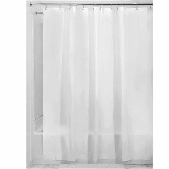 Shop InterDesign 15262 Frost Extra Long Shower Curtain Liner
