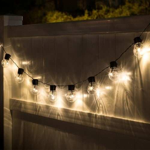 Socialite 20ft Solar Edison Led String Patio Lights On Free Shipping Orders Over 45 12661594