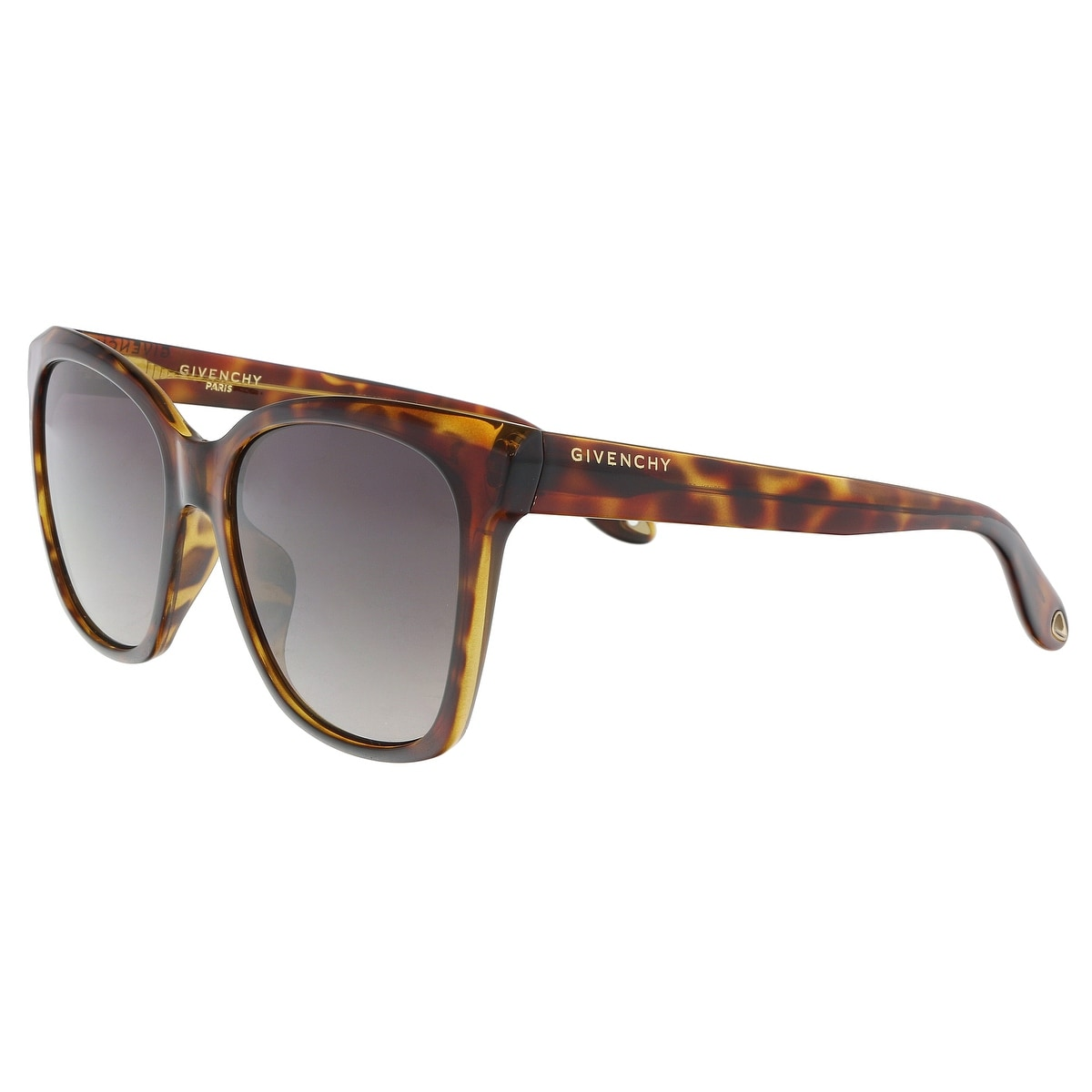 d6327ab2c6e0 Shop Givenchy GV7069S 0086 Dark Havana Square Sunglasses - 55-18-145 ...