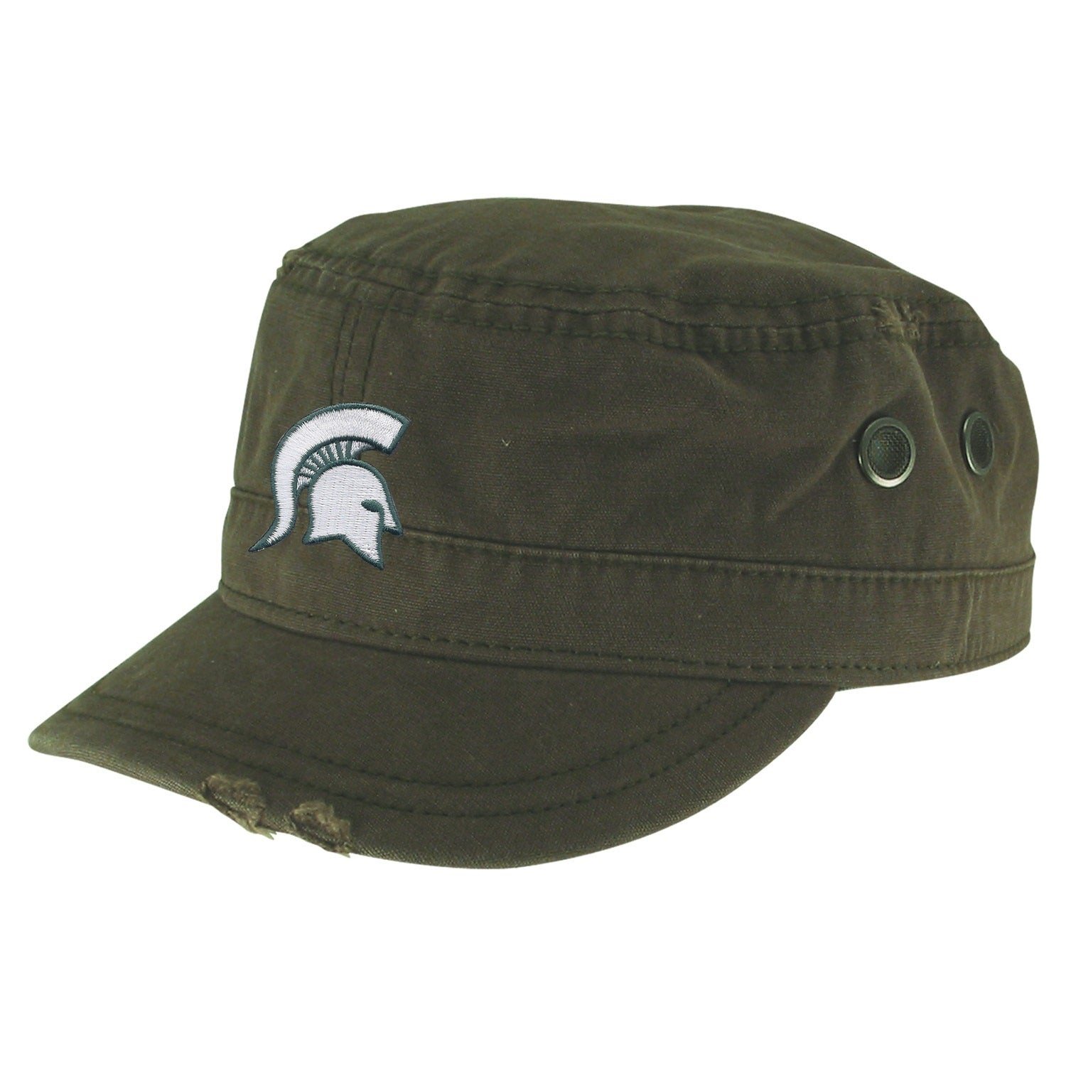 2ab504e571d Shop Michigan State University Sarge Military Hat - Free Shipping On Orders  Over  45 - Overstock - 20701846