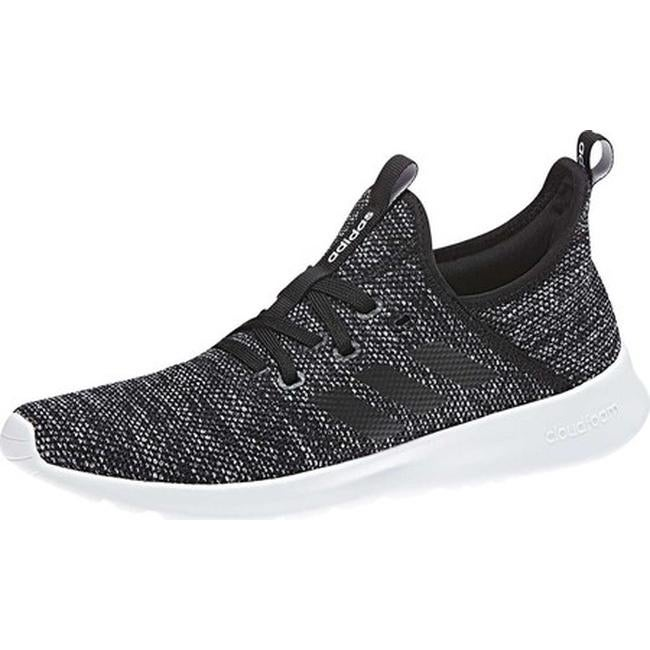 premium selection 3cd66 a44fb Shop adidas Women s Cloudfoam Pure Sneaker Core Black Core Black FTWR White  Mesh - On Sale - Free Shipping Today - Overstock - 20725666
