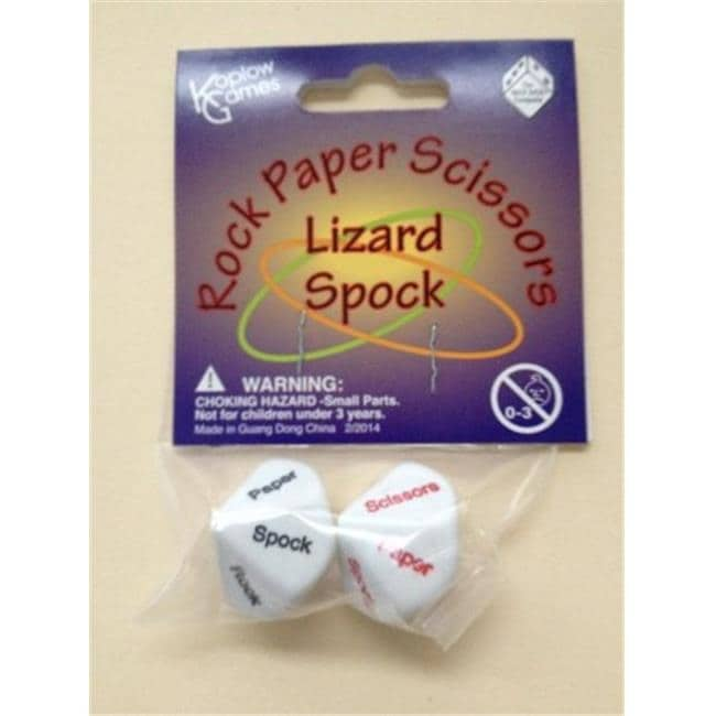 How to play rock paper scissors lizard spock dice