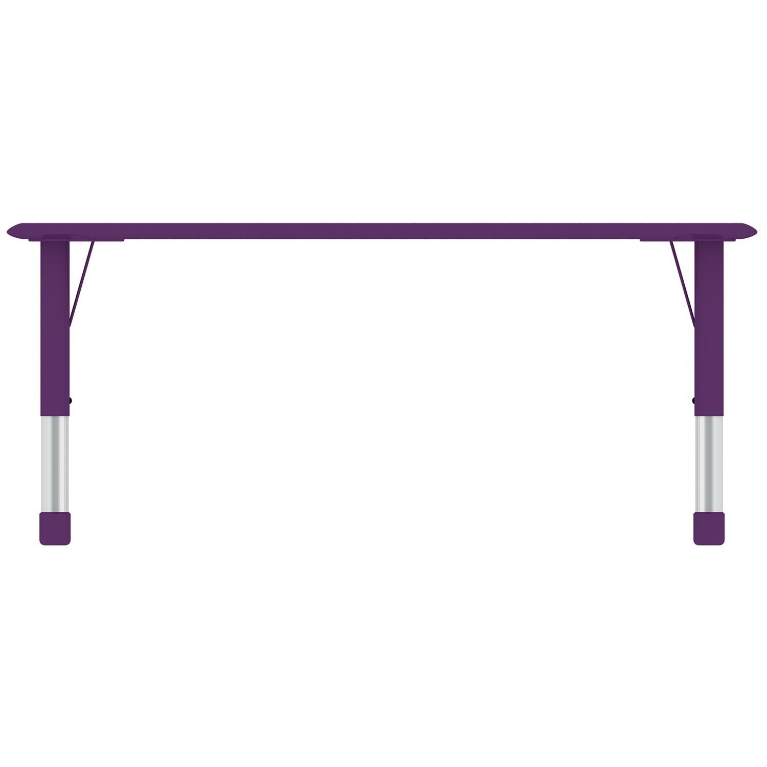 school rectangle table. 2xhome - Purple Kids Table Height Adjustable Rectangle Shape Activity School Childs Bright Colorful Preschool Free Shipping Today C