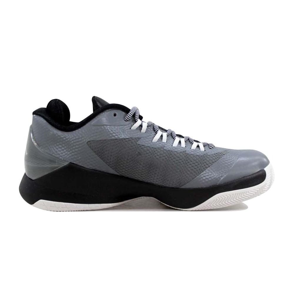 timeless design 546b9 63724 Shop Nike Air Jordan CP3 VIII 8 Cool Grey Black-White 684876-003  Grade-School - Free Shipping Today - Overstock - 22531342