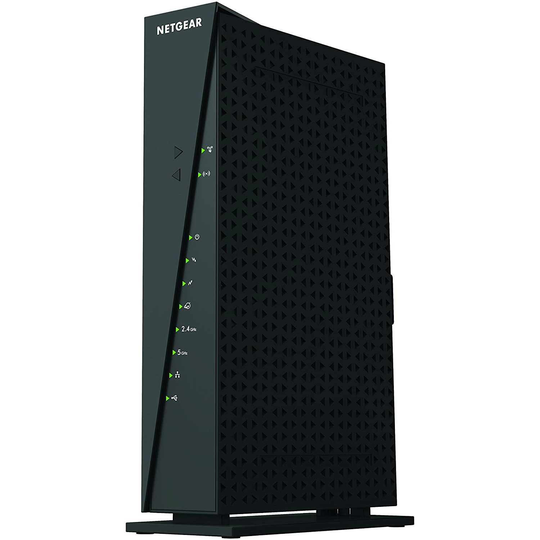 NetGear C6300-100NAS Netgear C6300 IEEE 802 11ac Cable Modem/Wireless  Router - 2 40 GHz ISM Band - 5 GHz UNII Band - 1750 Mbit/s