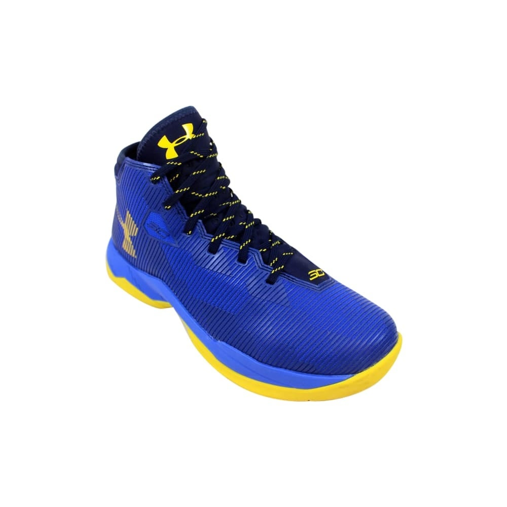 b17806522a7f Shop Under Armour GS Curry 2.5 Team Royal Midnight Navy-Taxi Yellow  Grade-School 1274062-400 Size 6.5 Medium - Free Shipping Today - Overstock  - 27640706
