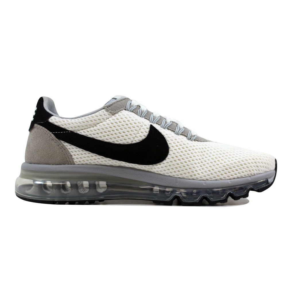 6a021796c39 Shop Nike Men s Air Max LD Zero 0 Summit White Black-Wolf Grey 848624-101 -  Free Shipping Today - Overstock - 21893169