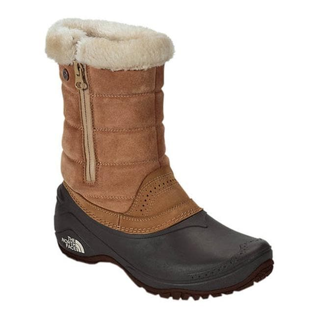 aed315be2 The North Face Women's Shellista III Pull-On Boot Bone Brown/Tourmaline Blue