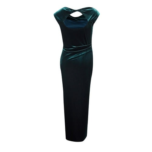 cb174145c96c Shop Vince Camuto Women s Velvet Cutout-Back Gown - Free Shipping Today -  Overstock - 18300567