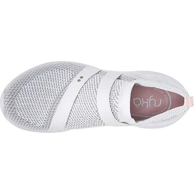 8d0df82cd07 Shop Ryka Women s Ethereal NRG Sneaker White Fabric - On Sale - Free  Shipping Today - Overstock - 25727725