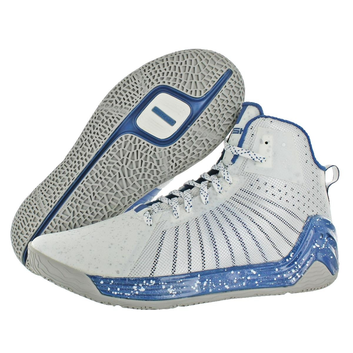 8ab1a98595b Shop Tesh Mens Trooper Basketball Shoes Metallic Kinetic Lift - Free  Shipping On Orders Over  45 - Overstock - 22366613