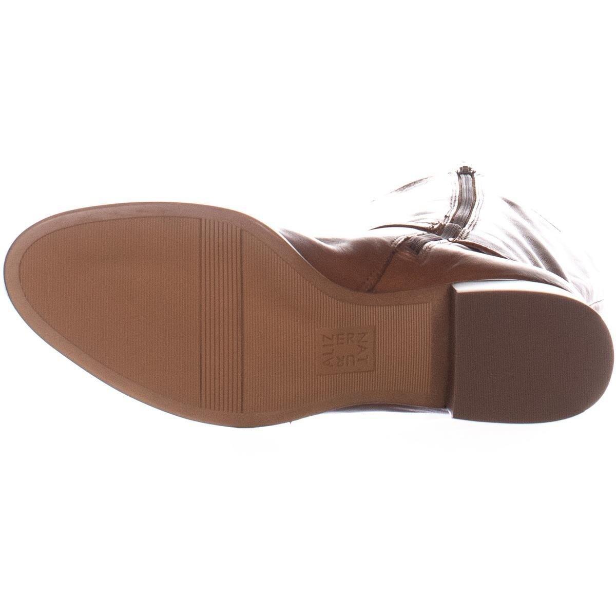 d0e62ce7b89 Shop naturalizer Dane Wide Calf Knee High Boots, Light Maple - 11 us / 41  eu - Free Shipping Today - Overstock - 25696533